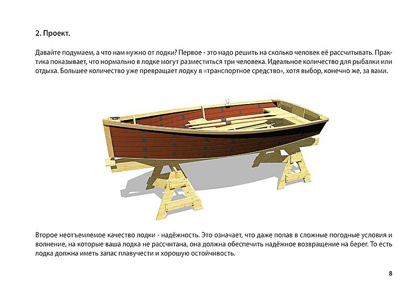 как сделать несложную лодку